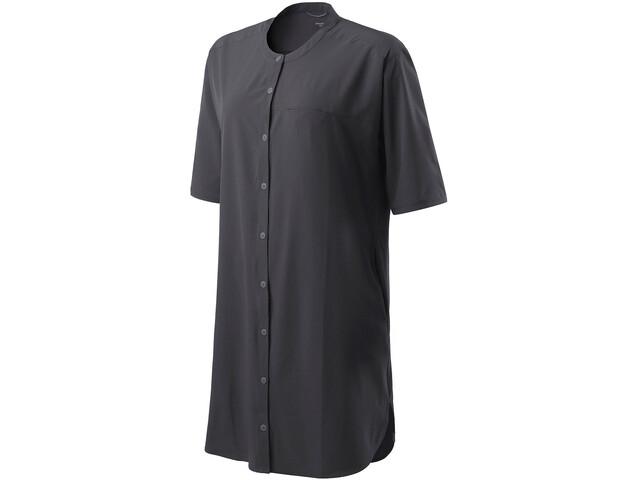 Houdini Trail Shirt Dress Dam true black